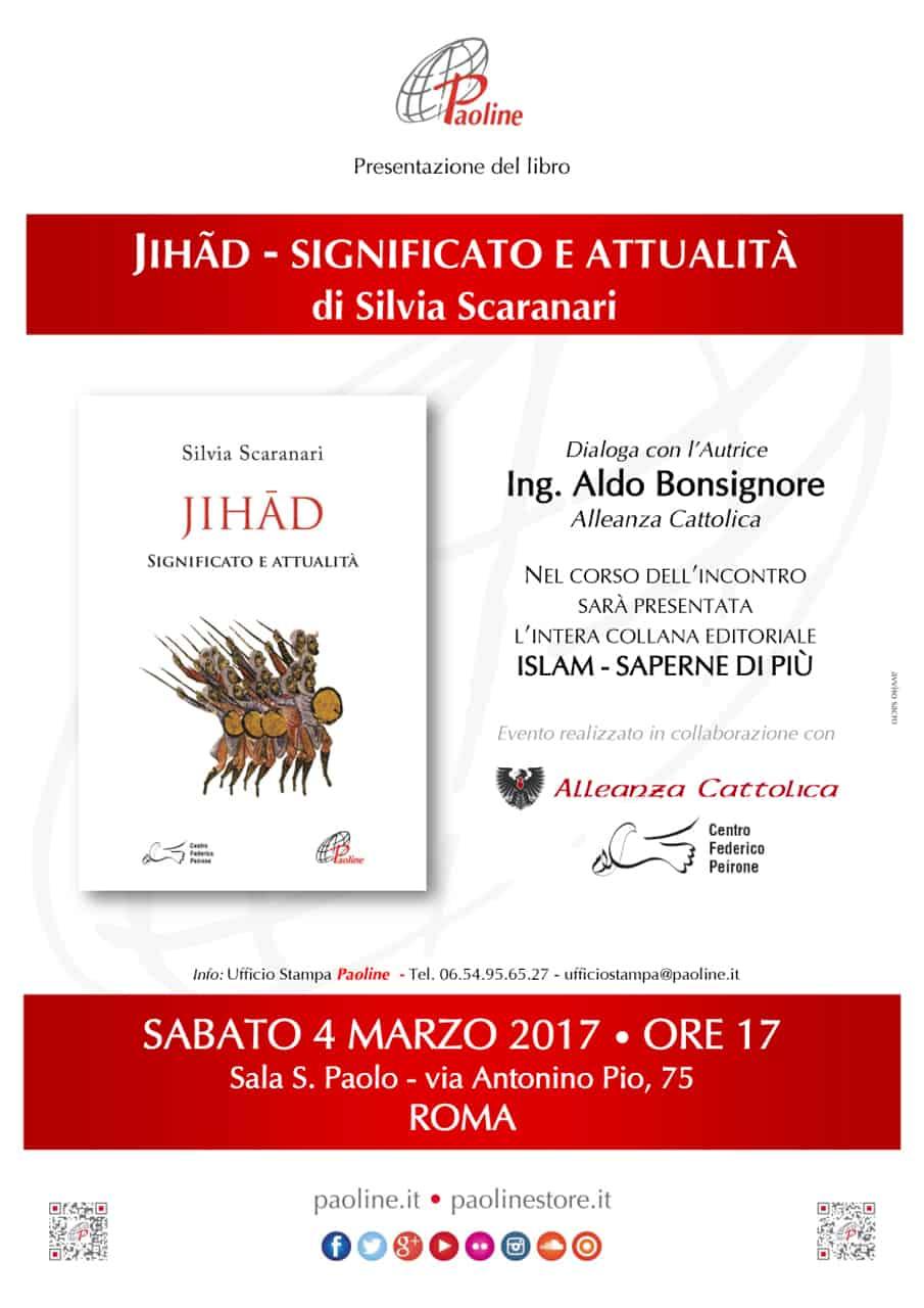 Roma Presentazione Libro Jihad Significato E