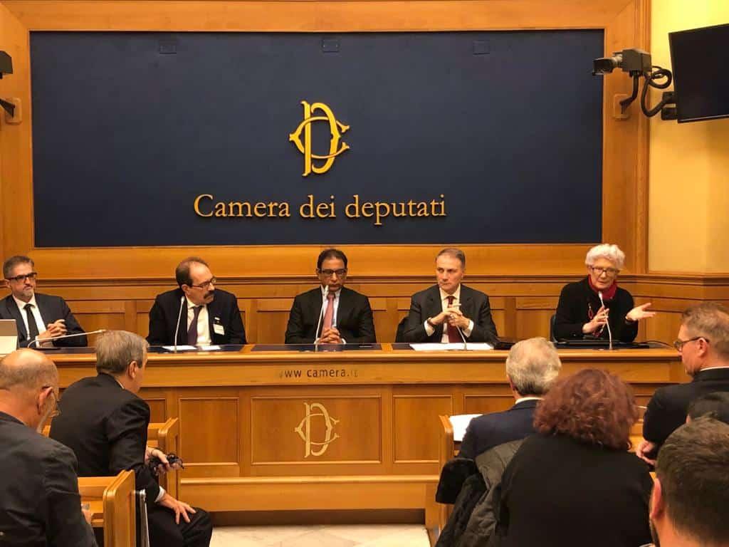 Asia Bibi - conferenza stampa di Alleanza Cattolica presso la Camera dei Deputati, Binetti