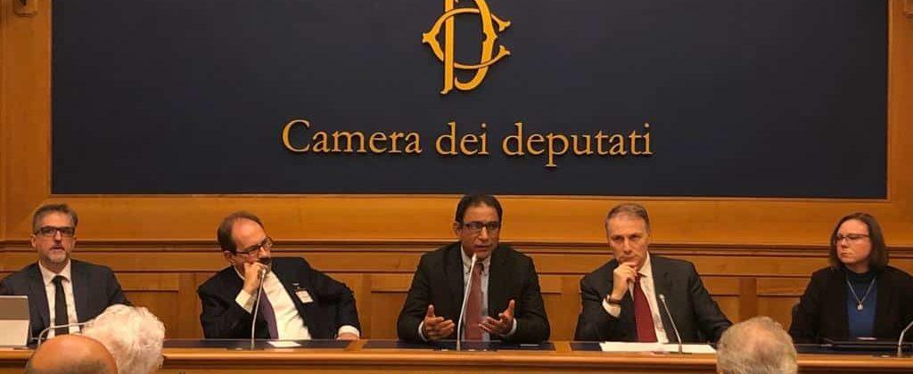 Asia Bibi - conferenza stampa di Alleanza Cattolica presso la Camera dei Deputati