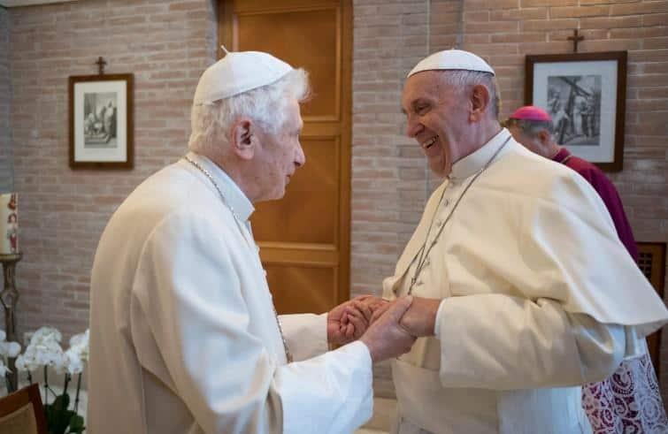 Papa Francesco e Papa Benedetto XVI