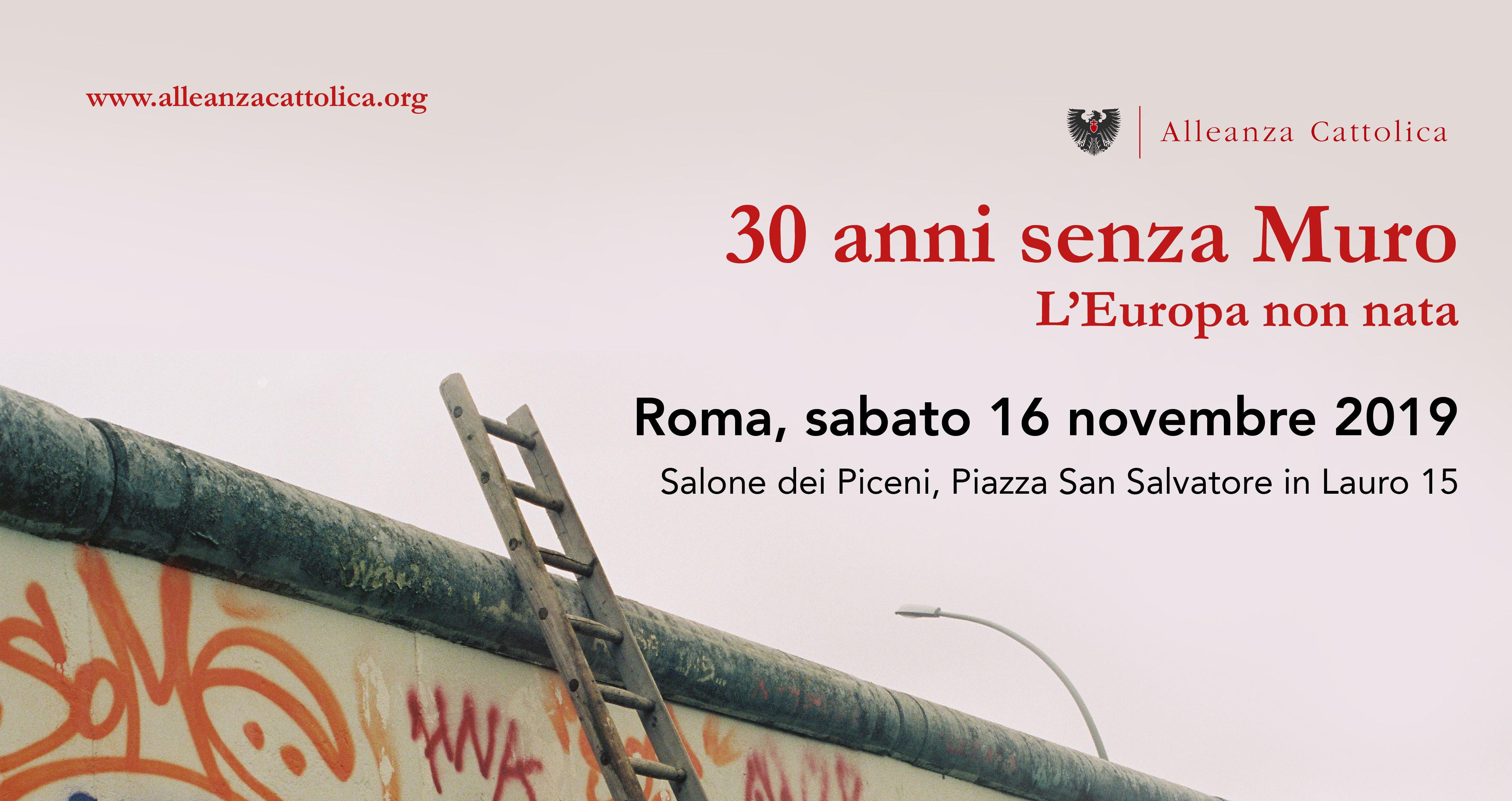Convegno Roma - 16 novembre 2019